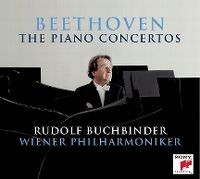 Cover Rudolf Buchbinder / Wiener Philharmoniker - Beethoven: The Piano Concertos