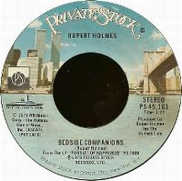 Cover Rupert Holmes - Bedside Companions