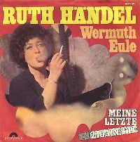 Cover Ruth Händel - Meine letzte Zigarette