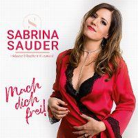 Cover Sabrina Sauder - Mach dich frei!