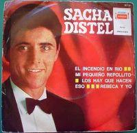 Cover Sacha Distel - El incendio en Rio