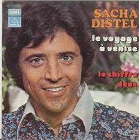 Cover Sacha Distel - Le voyage à Venise
