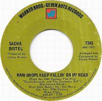 Cover Sacha Distel - Raindrops Keep Fallin' On My Head