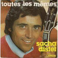 Cover Sacha Distel - Toutes les mêmes