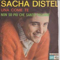 Cover Sacha Distel - Una come te