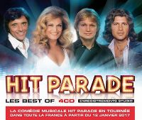 Cover Sacha Distel / Dalida / Claude François / Mike Brant - Hit Parade - Les Best Of 4CD
