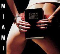 Cover Saez - Miami - Holy Bible
