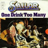 Cover Sailor - One Drink Too Many