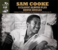 Cover Sam Cooke - 8 Classic Albums Plus Bonus Singles