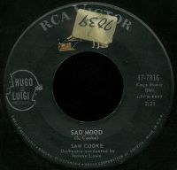 Cover Sam Cooke - Sad Mood