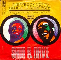 Cover Sam & Dave - Everybody Got To Believe In Somebody