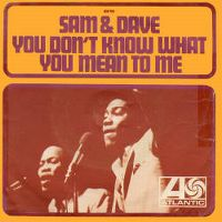 Cover Sam & Dave - You Don't Know What You Mean To Me