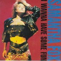 Cover Samantha Fox - I Wanna Have Some Fun