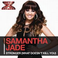 Cover Samantha Jade - Stronger (What Doesn't Kill You)