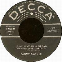 Cover Sammy Davis, Jr. - A Man With A Dream