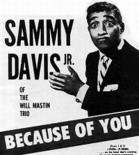 Cover Sammy Davis, Jr. - Because Of You - Part 1