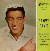 Cover Sammy Davis, Jr. - Change Partners