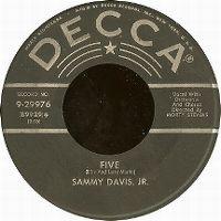 Cover Sammy Davis, Jr. - Five