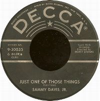 Cover Sammy Davis, Jr. - Just One Of Those Things