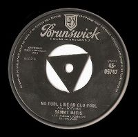 Cover Sammy Davis, Jr. - No Fool Like An Old Fool