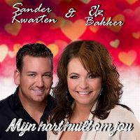 Cover Sander Kwarten & Elz Bakker - Mijn hart huilt om jou