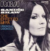Cover Sandie Shaw - Che effetto mi fa
