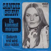 Cover Sandie Shaw - Du kommst morgen