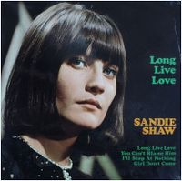 Cover Sandie Shaw - Long Live Love
