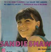Cover Sandie Shaw - Tu l'as bien compris