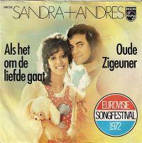 Cover Sandra & Andres - Als het om de liefde gaat