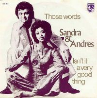 Cover Sandra & Andres - Those Words