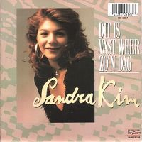 Cover Sandra Kim - Dit is vast weer zo'n dag