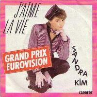 Cover Sandra Kim - J'aime la vie