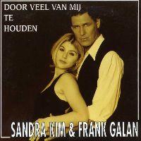 Cover Sandra Kim & Frank Galan - Door veel van mij te houden