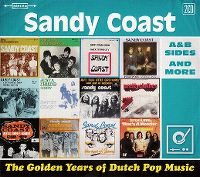 Cover Sandy Coast - The Golden Years Of Dutch Pop Music