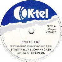 Cover Sandy Kelly & Johnny Cash - Ring Of Fire