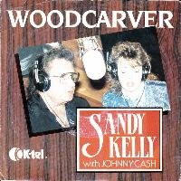 Cover Sandy Kelly with Johnny Cash - Woodcarver