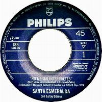 Cover Santa Esmeralda starring Leroy Gomez - Don't Let Me Be Misunderstood + Esmeralda Suite