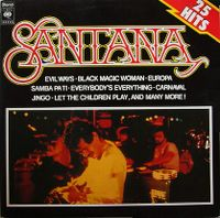 Cover Santana - 25 Hits