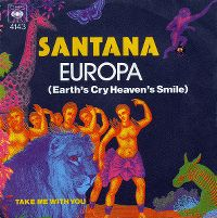 Cover Santana - Europa (Earth's Cry Heaven's Smile)