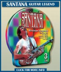 Cover Santana - Guitar Legend (Metall Box)