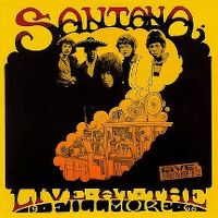 Cover Santana - Live At The Fillmore
