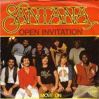 Cover Santana - Open Invitation