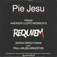 Cover Sarah Brightman & Paul Miles-Kingston - Pie Jesu