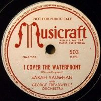 Cover Sarah Vaughan - I Cover The Waterfront