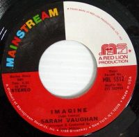 Cover Sarah Vaughan - Imagine