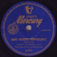Cover Sarah Vaughan - Make Yourself Comfortable
