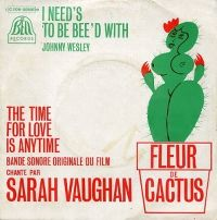 Cover Sarah Vaughan - The Time For Love Is Anytime