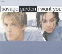 Cover Savage Garden - I Want You