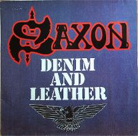 Cover Saxon - Denim And Leather